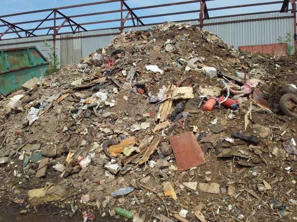 отходы мусор от строительных работ
