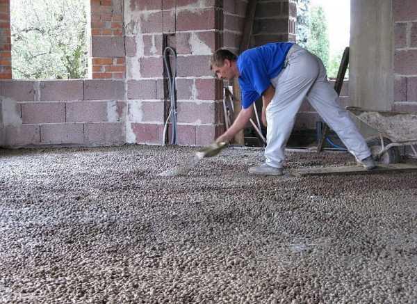 Расход материалов на проливка цементным раствором некачественный бетон