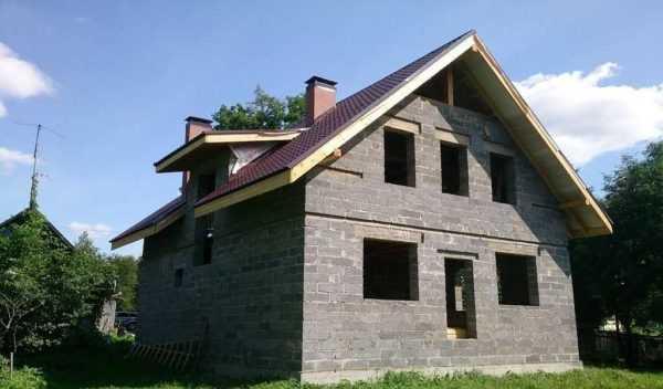 Смета на дом из керамзитобетона выравнивающая стяжка из цементного раствора